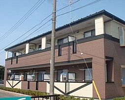 千葉県流山市大字東深井の賃貸アパートの外観