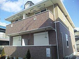 広島県福山市山手町4の賃貸アパートの外観