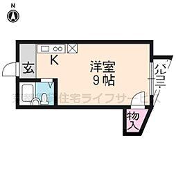 メゾンドール五条[705号室]の間取り