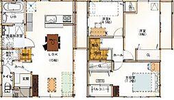 [タウンハウス] 兵庫県加東市南山2丁目 の賃貸【兵庫県 / 加東市】の間取り