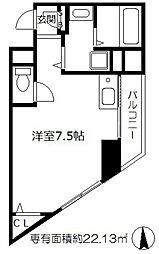 ラ・メゾヌーヴ[9階]の間取り