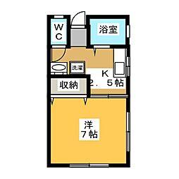 杉山アパート[1階]の間取り