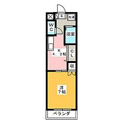 メゾン大橋II[1階]の間取り