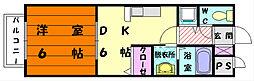 グランシャリオ弐番館[2階]の間取り