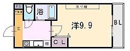 桜ケ丘晴楽館[1310号室]の間取り