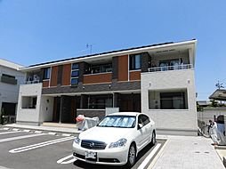 愛知県北名古屋市九之坪菰口の賃貸アパートの外観