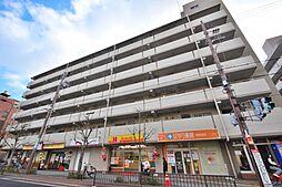 大阪府大阪市東住吉区東田辺2丁目の賃貸マンションの外観
