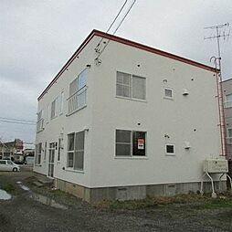 北海道札幌市西区発寒六条12丁目の賃貸アパートの外観