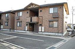 ラフィネス高田B棟[2階]の外観