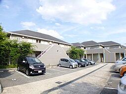 兵庫県芦屋市津知町の賃貸アパートの外観