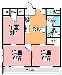 MK−2[101号室]の間取り