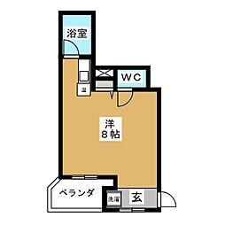 プラネシア京都[10階]の間取り