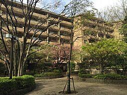 広尾ガーデンヒルズM棟[405号室]の外観