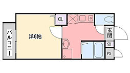 三記マンションIII[303号室]の間取り