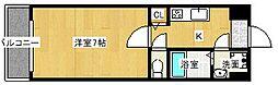 Goパレス福島[4階]の間取り