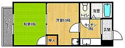 京都府京都市中京区下妙覚寺町の賃貸マンションの間取り