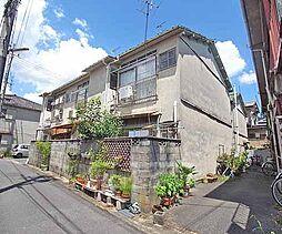 京都府京都市山科区御陵別所町の賃貸アパートの外観