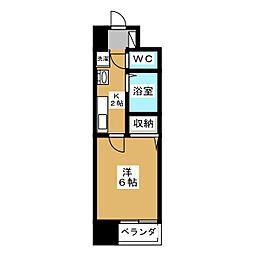 S−FORT京都西大路[4階]の間取り