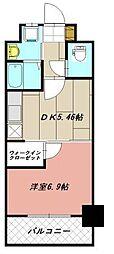 ウイングス片野II[5階]の間取り