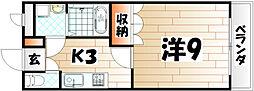 ポート・ソレイユ[2階]の間取り