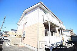 愛知県豊田市桝塚西町郷西の賃貸アパートの外観