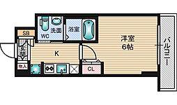 エステムコート新大阪8レヴォリス[3階]の間取り
