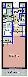 CANAL(カナル)[1階]の間取り