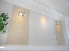 間接照明もお部屋をおしゃれに演出してくれますね。