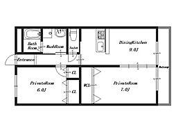 ガネーシャ378[1階]の間取り