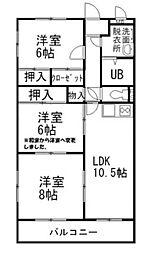 ストークハウス長泉A[4階]の間取り