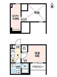 REVE鶴舞[1階]の間取り