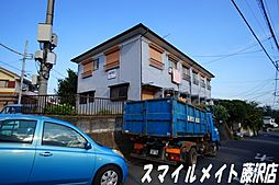 揚羽荘[1階]の外観