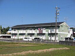 岐阜県恵那市長島町正家の賃貸アパートの外観