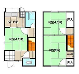大場アパート[10号室]の間取り