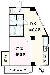 ガーデンヒルズ狛江[3階]の間取り