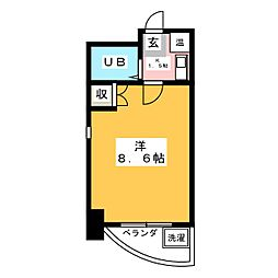 SグランTEN[7階]の間取り