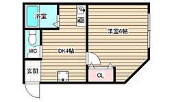 福島ビル[3階]の間取り