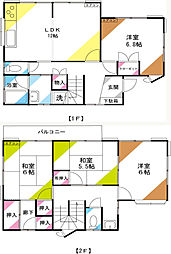 [一戸建] 埼玉県さいたま市南区太田窪4丁目 の賃貸【/】の間取り