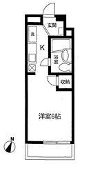神奈川県相模原市南区若松3丁目の賃貸マンションの間取り