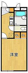 レオパレスTakarazuka[2階]の間取り