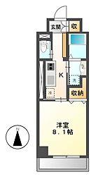 メゾン ミール[2階]の間取り