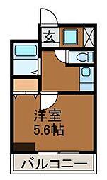 ル・カリエンテ[3階]の間取り