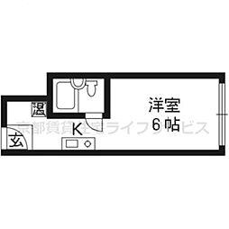 サイト烏丸三条町[402号室]の間取り