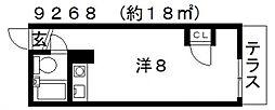 グレース田中[102号室号室]の間取り