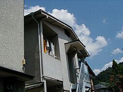 京都府京都市左京区浄土寺下南田町の賃貸アパートの外観