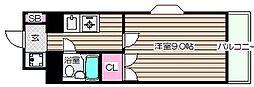 メゾンベルクレール[5階]の間取り