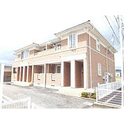 長野県長野市松岡2丁目の賃貸アパートの外観