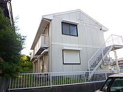 パールコーポ島崎[201号室]の外観