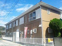 千葉県市川市国分の賃貸アパートの外観