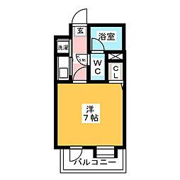 ピュアドーム博多アソシア[9階]の間取り